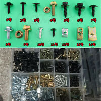 320x Metal Mixed UTV ATV Fender Screw Gasket Wahser Clip Fastener Selftapping