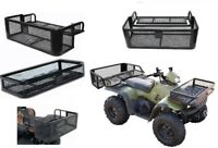 Set Front & Rear Drop Basket Farmer Carrier Storage ATV UTV Hunting Universal