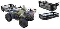 ATV UTV Storage Farmer Carrier Universal Front & Rear Set Drop Basket Hunting