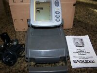 Eagle FishEasy2 Portable Fishfinder ~ Used …. Great for Fly-In Fishing Trips