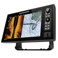 Humminbird SOLIX 10 CHIRP MEGA SI Fishfinder GPS G2 with Transducer 411010-1