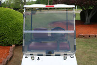 Folding Acrylic Tinted Windshield For 1982-2000.5 Club Car DS Golf Cart New