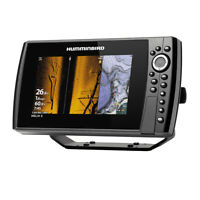 Humminbird HELIX 8 CHIRP Mega SI Fishfinder GPS G3N with Transducer 410830-1