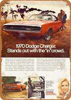 Metal Sign - 1970 Dodge Charger - Vintage Look Reproduction