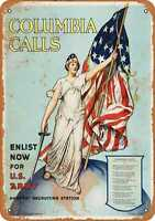 Metal Sign - 1916 Enlist in the U.S. Army - Vintage Look Reproduction
