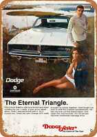 Metal Sign - 1969 Dodge Charger R/T - Vintage Look Reproduction 5