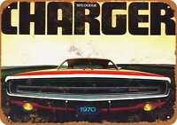 Metal Sign - 1970 Dodge Charger 500 - Vintage Look Reproduction 2