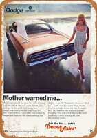 Metal Sign - 1969 Dodge Charger R/T - Vintage Look Reproduction 3