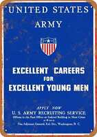 Metal Sign - Join the Army - Vintage Look Reproduction