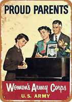 Metal Sign - 1956 Women's Army Corps - Vintage Look Reproduction