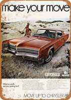 Metal Sign - 1968 Chrysler 300 - Vintage Look Reproduction