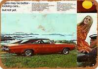 Metal Sign - 1968 Dodge Charger - Vintage Look Reproduction 2