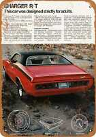 Metal Sign - 1971 Dodge Charger R/T - Vintage Look Reproduction
