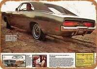 Metal Sign - 1969 Dodge Charger - Vintage Look Reproduction 3