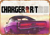 Metal Sign - 1970 Dodge Charger R/T - Vintage Look Reproduction