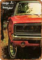 Metal Sign - 1969 Dodge Charger - Vintage Look Reproduction