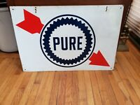 Oil Gasoline Sign Pure Pennsylvania vintage gas station advertising pop art