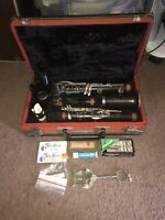 VINTAGE Normandy 4 Clarinet Serial# 69425 Made In France Leblanc Noblet LOT
