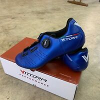 Vittoria Alise Road Cycling Shoes Blue Size 40