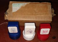 Rare vintage 1980's Frankenberry Count Chocula Boo Berry mail away stamper set