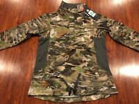 Under Armour Women's Camo Early Season 1/4 Zip Hunting Hoodie Jacket Large L
