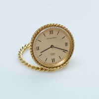 Van Cleef and Arpels Gold Travel Clock