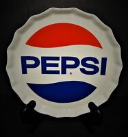 Pepsi Cola Heritage Collection Porcelain Bottle Cap Snack Plate Red Blue 2006