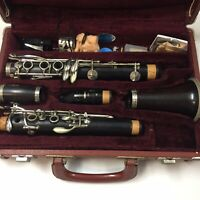 A Fontaine French Wooden Clarinet with Yamaha Mouthpiece