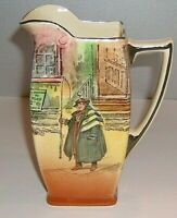 ROYAL DOULTON old seriesware DICKENSWARE TONY WELLER Pitcher D5175