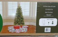 5 Ft Pre-Lit Artificial Christmas Tree with Stand