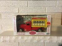 Metalcraft Coca Cola Stamped Steel Toy Bottling Truck Reproduction by Gearbox