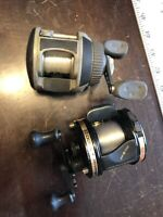 2 Vintage-Abu Garcia Ambassadeur 5600CI & 5600 High Speed Fishing Reel (f6