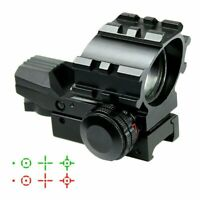 Tactical Holographic Projected Red Green Dot Reflex Sight with Picatinny Mount