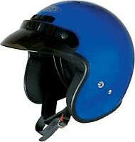 Gmax GM2 Adult & Kid's Blue DOT 3/4 Open Face ATV Motorcycle Riding Helmet