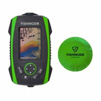 Fishingsir Wireless Portable Fish Finder Depth Finder with Sonar