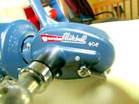 ~~Vintage Garcia/Mitchell 408 High Speed Blue Spinning Reel~MADE IN FRANCE~~