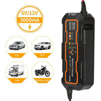 1PC Battery Charger 6V/12V Universal Car Battery Charger for Car Motorcycle ATV