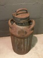 VINTAGE Geo. D. Ellis & Sons, Inc. Philadelphia PA 5 Gallon Oil Can Ellisco 244