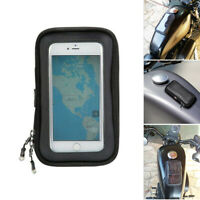 Motorcycle Tank Bag Magnetic Pouch Smartphones GPS Holder for Snowmobile ATV