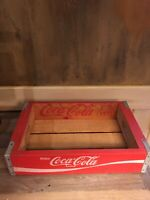 Vintage 1971 Coca-cola Wood Crate - Awesome Condition!