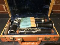 Normandy Special Made By Noblet Wood Clarinet Ser. 2927 Made in France