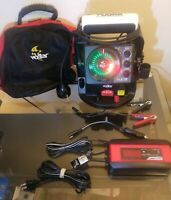 Vexilar FLX-28 Ultra Pack w/ ProView Ice-Ducer, Lightly Used w/ Bag and Charger!