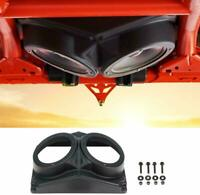 6.5inch Overhead Roof Mount Speaker Pods Enclosure For Polaris RZR/ATV/UTV/Cart