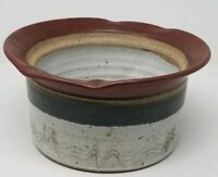 Bill Coombs, Pleasureville Pottery Virginia Ovenware Bowl 1988