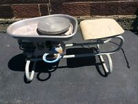 AMACO Electric Sit Down Pottery Wheel - 2 Speed - Runs Great - Very Good