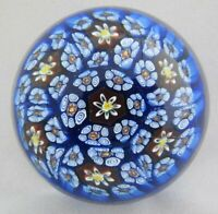 Org Vintage High Quality Art Glass- Murano Paperweight- Millefiori Canes- #6
