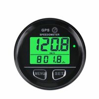 A MPH Waterproof Marine Boat Car Motorcycle ATV Digital GPS Speedometer Guage
