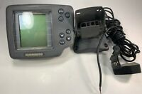 Humminbird Wide One Hundred Depth Fish Finder Head Unit And Base With Cords