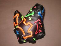 Scotty Cameron Custom Freestyle Neon Junk Yard Dog Mid Mallet Putter Headcover