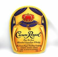 Crown Royal Blended Canadian Whiskey Bar Pub 3D Sign - Man Cave Wall Art